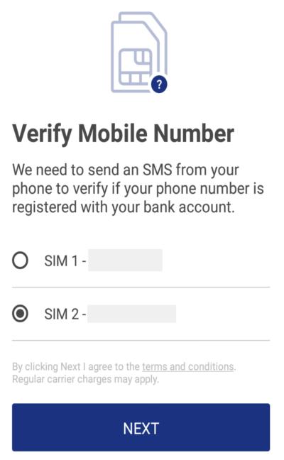 bhim verification