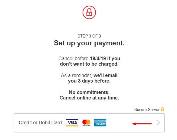 Netflix Card Details